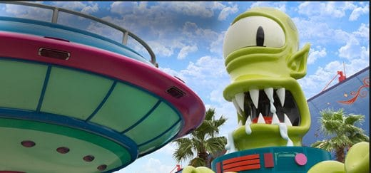Universal Orlando Resort's Rides & Attractions (excluding Harry Potter): Kang and Kodos' Twirl 'n' Hurl