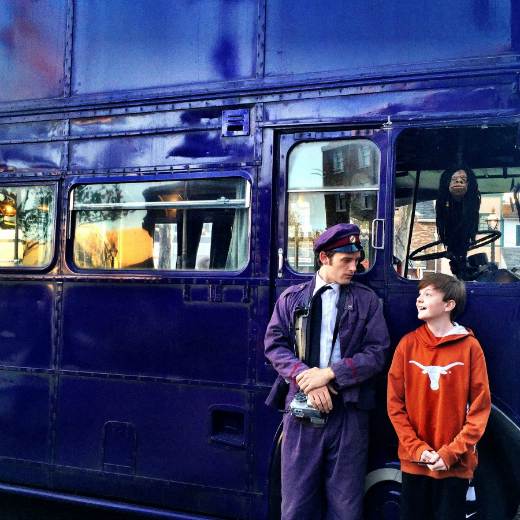 What to Expect at The Wizarding World of Harry Potter: Knight Bus Conductor at Diagon Alley