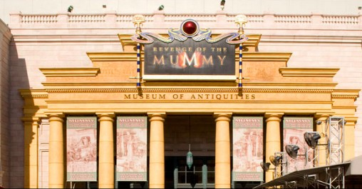 Universal Orlando Resort's Rides & Attractions (excluding Harry Potter): Revenge of the Mummy