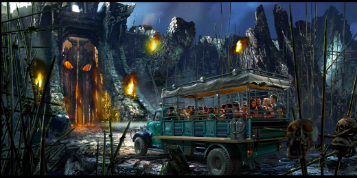 Universal Orlando Resort's Rides & Attractions (excluding Harry Potter): Skull Island Reign of Kong