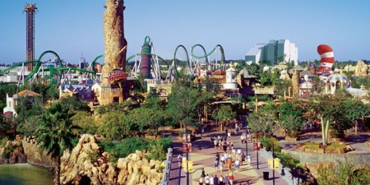 Universal Orlando Resort's Rides & Attractions (excluding Harry Potter): ISLANDS OF ADVENTURE