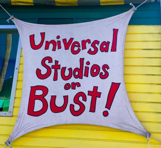 Universal Orlando Resort's Rides & Attractions (excluding Harry Potter): UNIVERSAL STUDIOS FLORIDA