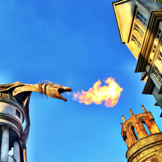 What to Expect at The Wizarding World of Harry Potter: Ukranian Ironbelly at Diagon Alley