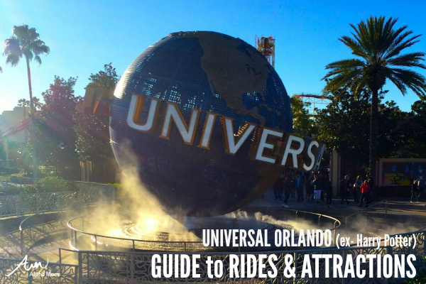 Universal Orlando Resort's Best Rides & Attractions (excluding Harry Potter)