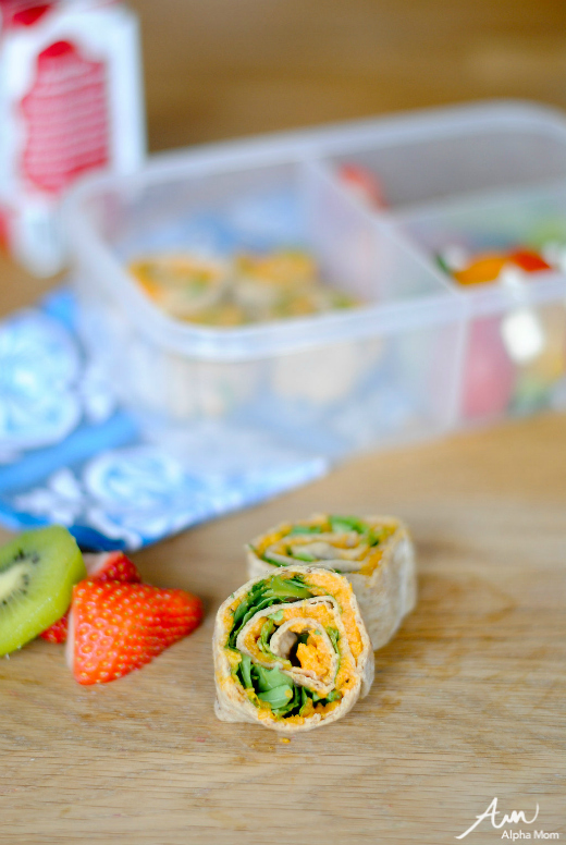 Citrus Sweet Potato Pinwheels for the Lunchbox (Cooking For & With Kids) by Amalah for Alphamom.com