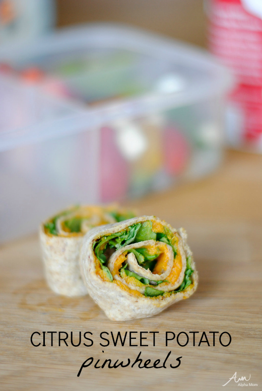 Citrus Sweet Potato Pinwheels: Cooking For & With Kids by Amalah for Alphamom.com