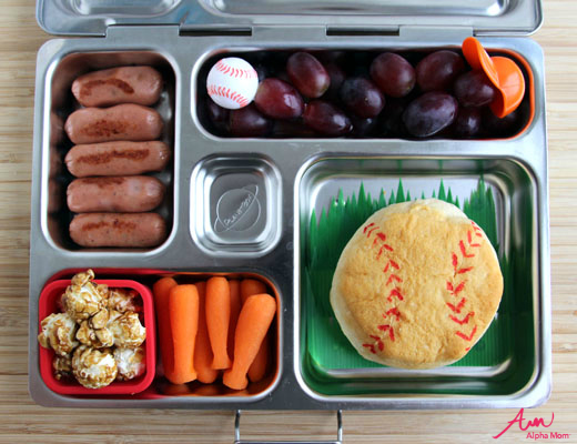 Baseball-Themed Lunch for Little League Season by Wendy Copley for Alphamom.com