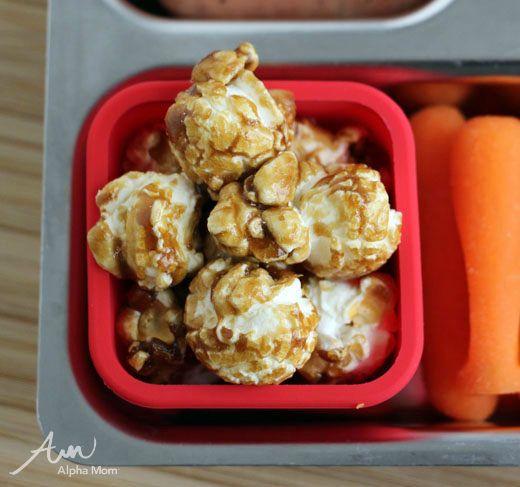 Baseball-Themed Lunch for Little League Season (Cracker Jack or popcorn) by Wendy Copley for Alphamom.com