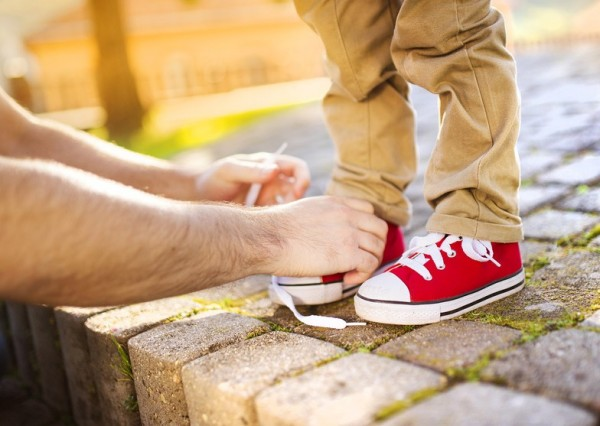 On Tying (and Buying) Kids' Shoes