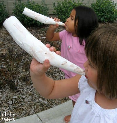 Make a Shofar Horn to Celebrate the Jewish New Year Rosh Hashanah by by Cindy Hopper for Alphamom.com