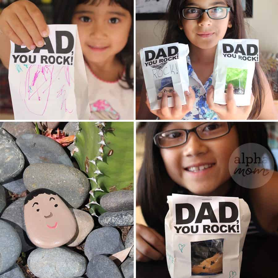 Dad, You Rock! a Father's Day Gift by Brenda Ponnay for Alphamom.com