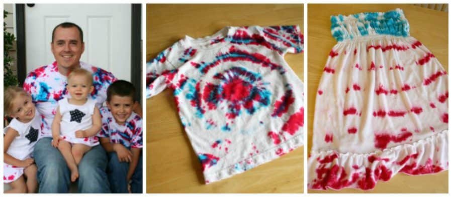 4th of July Craft: Tie Dye Tees by Marie LeBaron for Alphamom.com