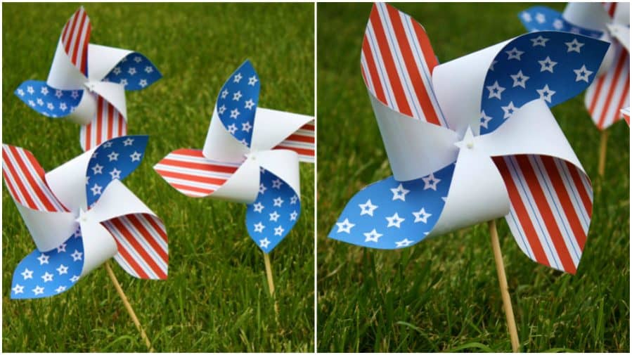 Printable Pinwheels for Your Patriotic Holidays by Cindy Hopper for Alphamom.com