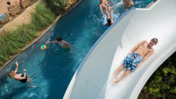 Hyatt Lost Pines Resort in Texas: Traveling with teenagers isn't always easy but this resort offers non-stop activities for all ages. We were able to do some of them on our own, and some together. The perfect balance. #waterpark #Texas