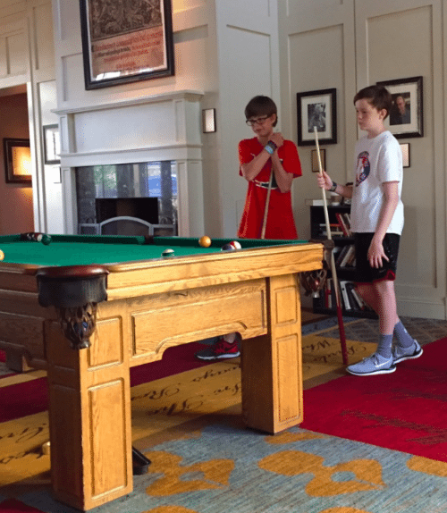 Hyatt Lost Pines Resort in Texas: Traveling with teenagers isn't always easy but this resort offers non-stop activities for all ages. We were able to do some of them on our own, and some together.