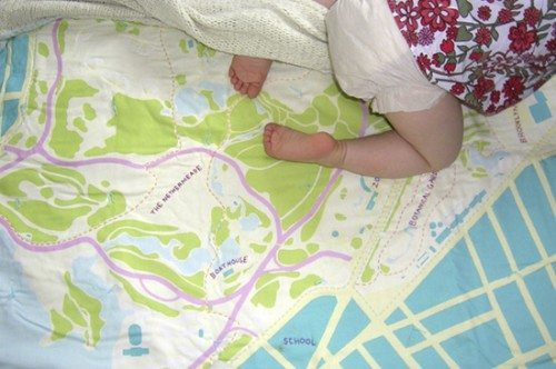 Neighborhood and City Baby Quilts | Alpha Mom