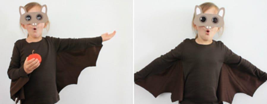 DIY Kids Bat Costume by Ellen Luckett Baker for Alphamom.com