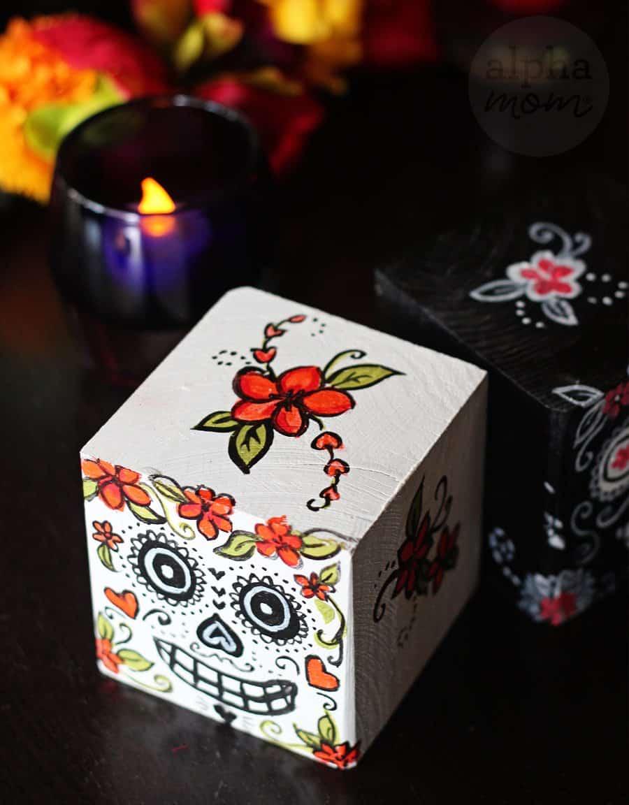 Day of the Dead | Dia De Los Muertos Blocks by Brenda Ponnay for Alphamom.com