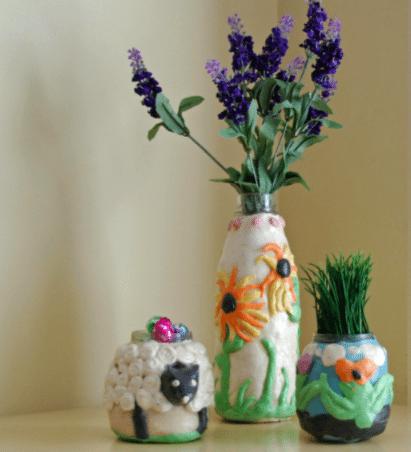 Easter Craft Make Your Own Flower Pots And Vases Alpha Mom