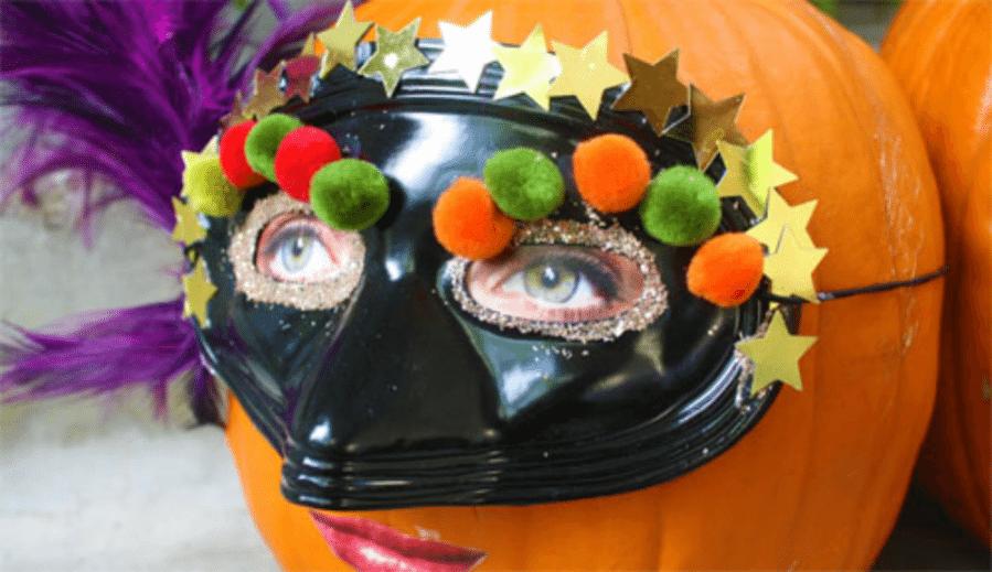 Halloween Craft: Silly Pumpkins by Cindy Hopper for Alpahmom.com