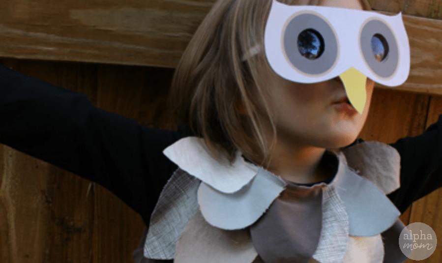 Kids Owl Costume by Ellen Luckett Baker for Alphamom.com