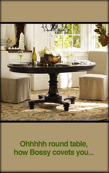 Montego Pedestal Dining Table Alpha Mom