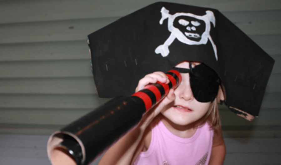 Ahoy, Make Crafts for Talk Like a Pirate Day! by Ellen Luckett Baker for Alphamom.com