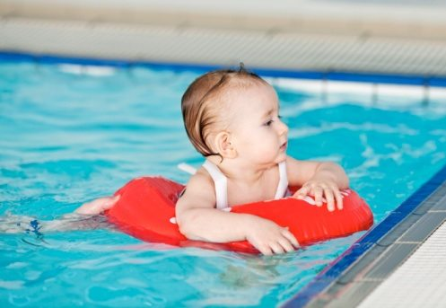 Infant Swim Class And Reusable Diapers Alpha Mom