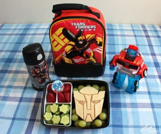 transformers bento box lunch for the rising kindergartener alpha mom. Black Bedroom Furniture Sets. Home Design Ideas