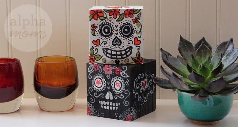 Dia De Los Muertos | Day of the Dead Blocks by Brenda Ponnay for Alphamom.com