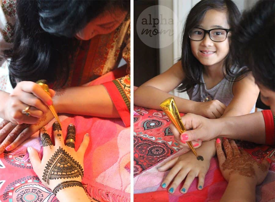 Host a Henna Party for Diwali! (henna design applications) by Brenda Ponnay for Alphamom.com