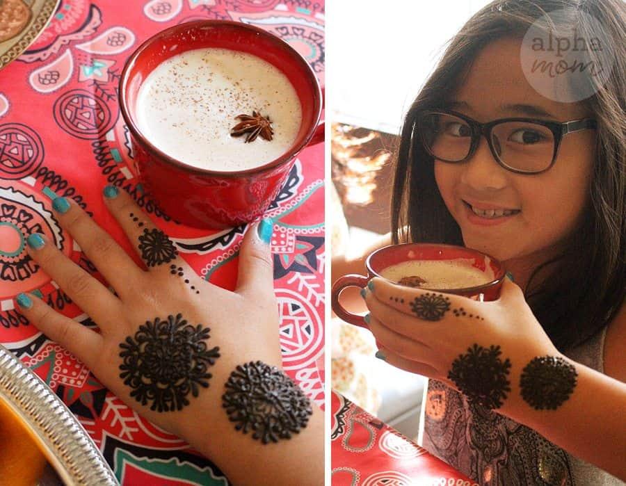 Host a Henna Party for Diwali! (chai) by Brenda Ponnay for Alphamom.com