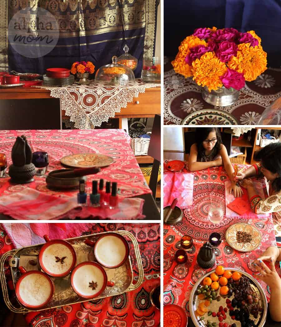 Host a Henna Party for Diwali! (party decorations) by Brenda Ponnay for Alphamom.com