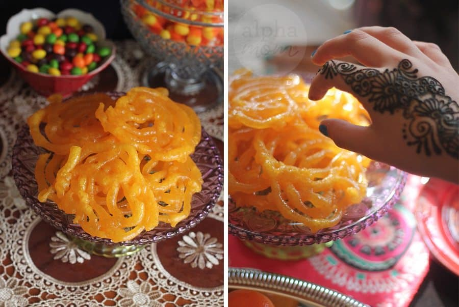 Host a Henna Party for Diwali! (jalebi) by Brenda Ponnay for Alphamom.com