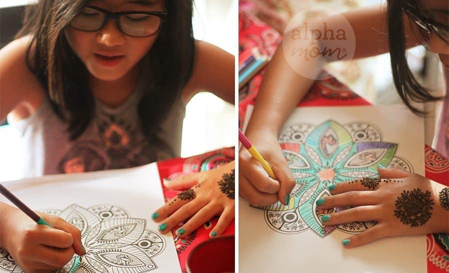 Host a Henna Party for Diwali! (mandalas) by Brenda Ponnay for Alphamom.com