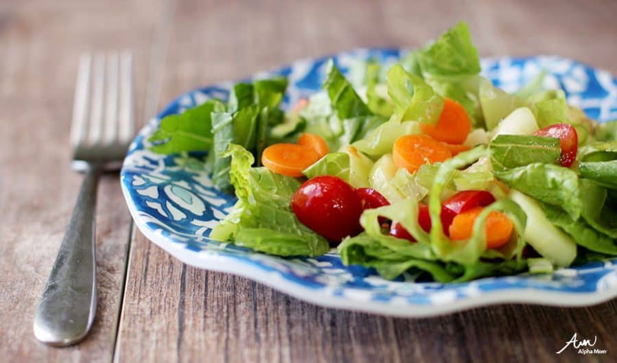 Recipes Kids Should Know: How to Make Salad + Homemade Salad Dressing