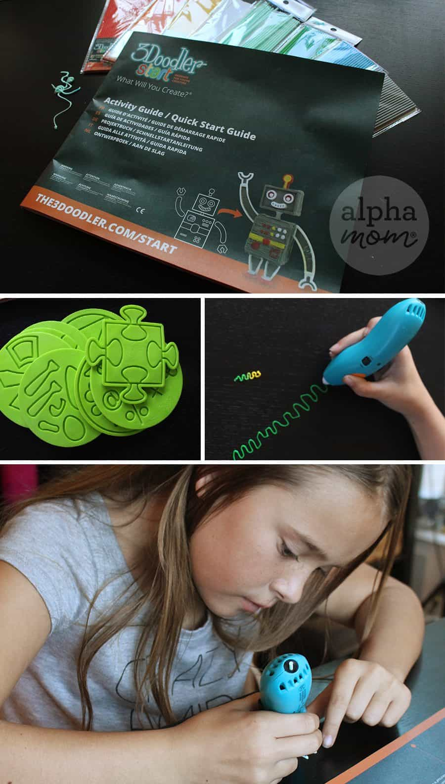 3Doodler Start: Should You Buy It? An honest review from a craft mom. (instruction guide) by Brenda Ponnay for Alphamom.com