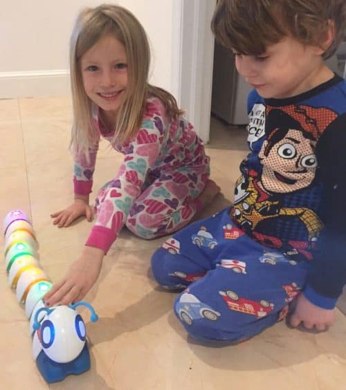 Think & Learn Code-A-Pillar Toy Review: why we think this toy is worthy of being on retailers' Hot Toy Lists.