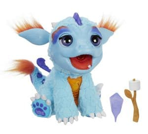 My Blazin' Dragon Toy Review: this toy has one super cool feature that my kids loved... Get ready to watch this dragon breathe fire! Or you know, the kid equivalent.