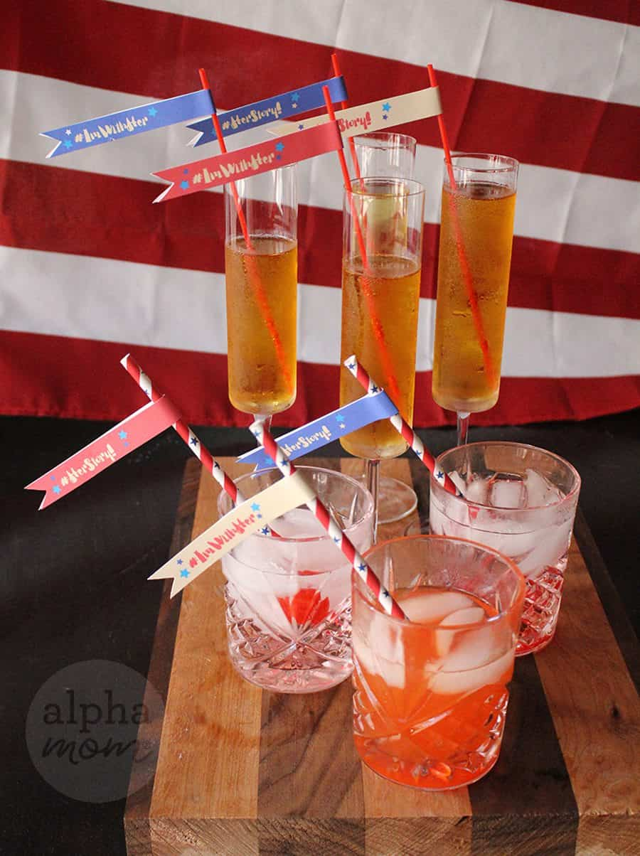 Waiting for Our Madam President! Election Day & Night Party Treats and Drinks