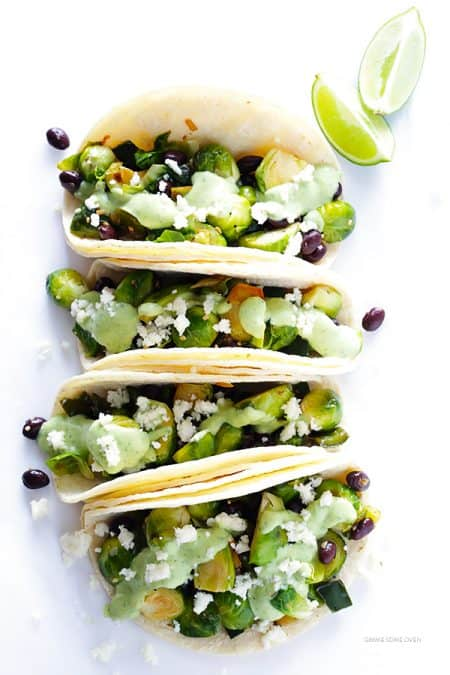 Gimme Me Some Oven's Brussels Sprouts Tacos Recipe