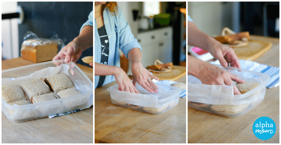 How to Make Homemade Uncrustable Sandwiches (storing & freezing) by Amalah for Alphamom.com