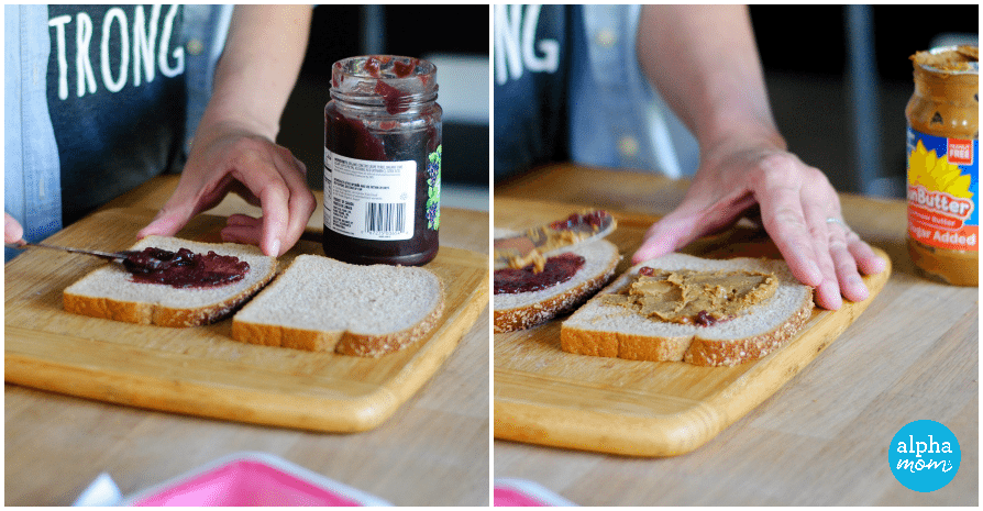 How to Make Homemade Uncrustable Sandwiches (jelly & sunbutter) by Amalah for Alphamom.com