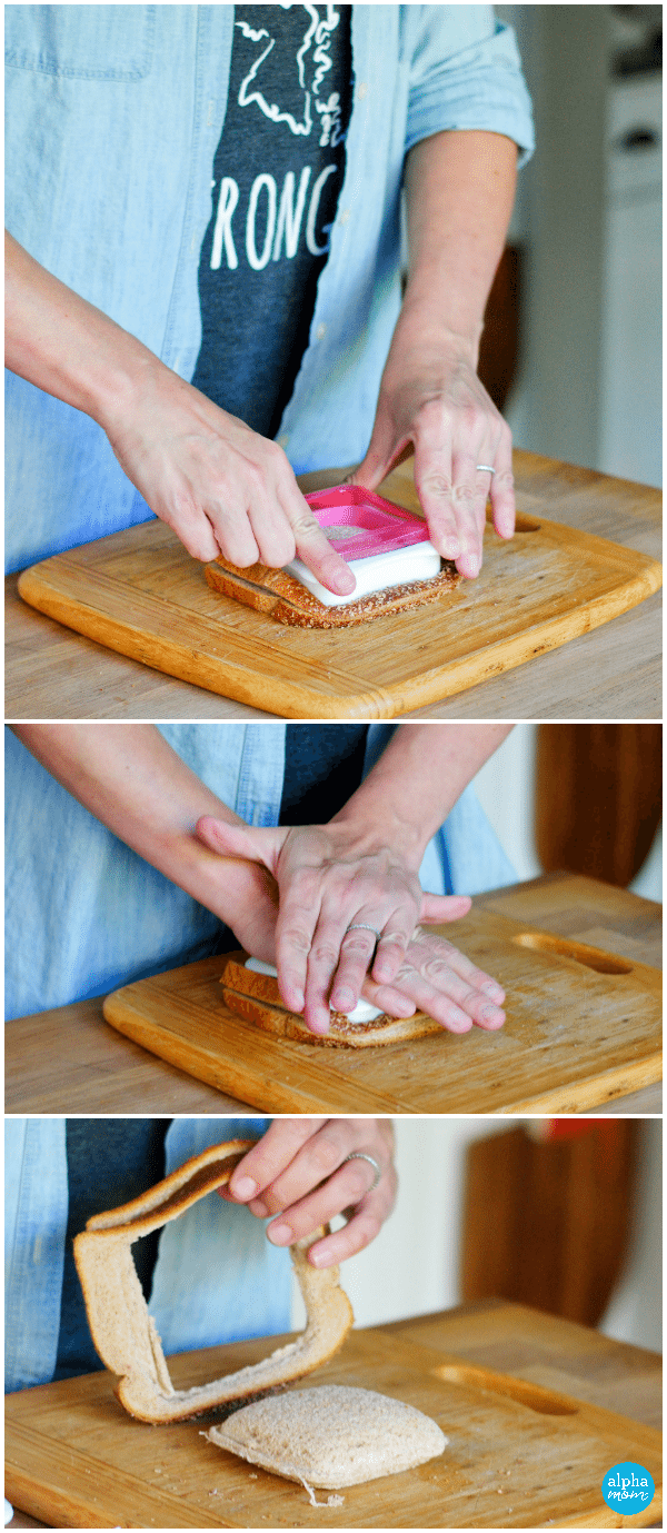 How to Make Homemade Uncrustable Sandwiches (sandwich sealer & decruster) by Amalah for Alphamom.com