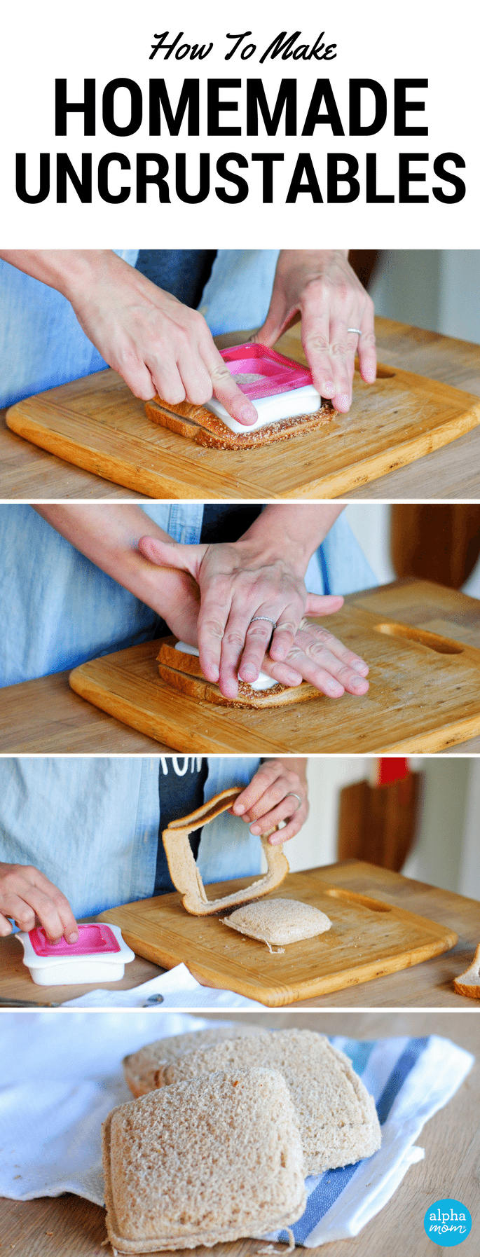 How to Make Your Own Homemade Uncrustables by Amalah for Alphamom.com
