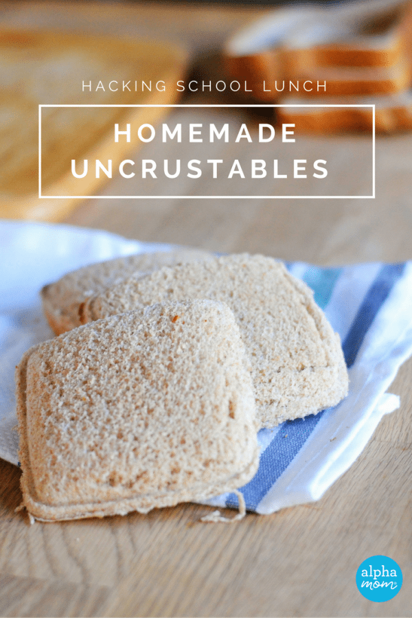 How to Make Homemade Uncrustables (lunch hack) by Amalah for Alphamom.com