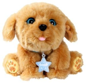 Snuggles My Dream Puppy Review: We're smitten for this fake dog. Just so sweet. Very interactive and acts like a puppy. Find out why we think it deserves to be on the Hot Toy Lists.
