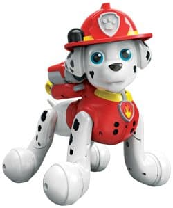 Paw Patrol Zoomer Toy Review: by far my sons' favorite thing about this toy is that you can shoot off fake water cannons. Read more why we recommend this toy.