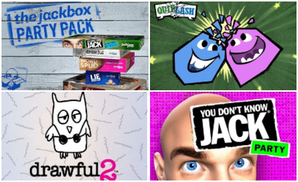 Family Game Night with Your Teenager: Quiplash, Drawful & You Don't Know Jack are a HIT with Teens!