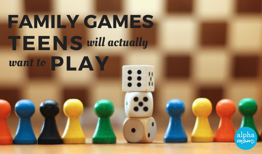 Ideas for Family Game Night with Teenagers